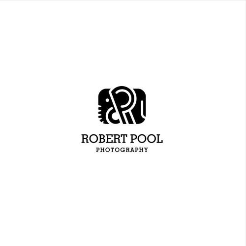 Iconic logo for adventure photographer