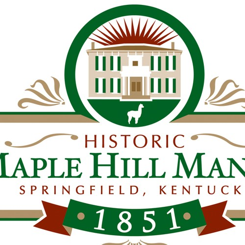 Create the next logo for Maple Hill Manor