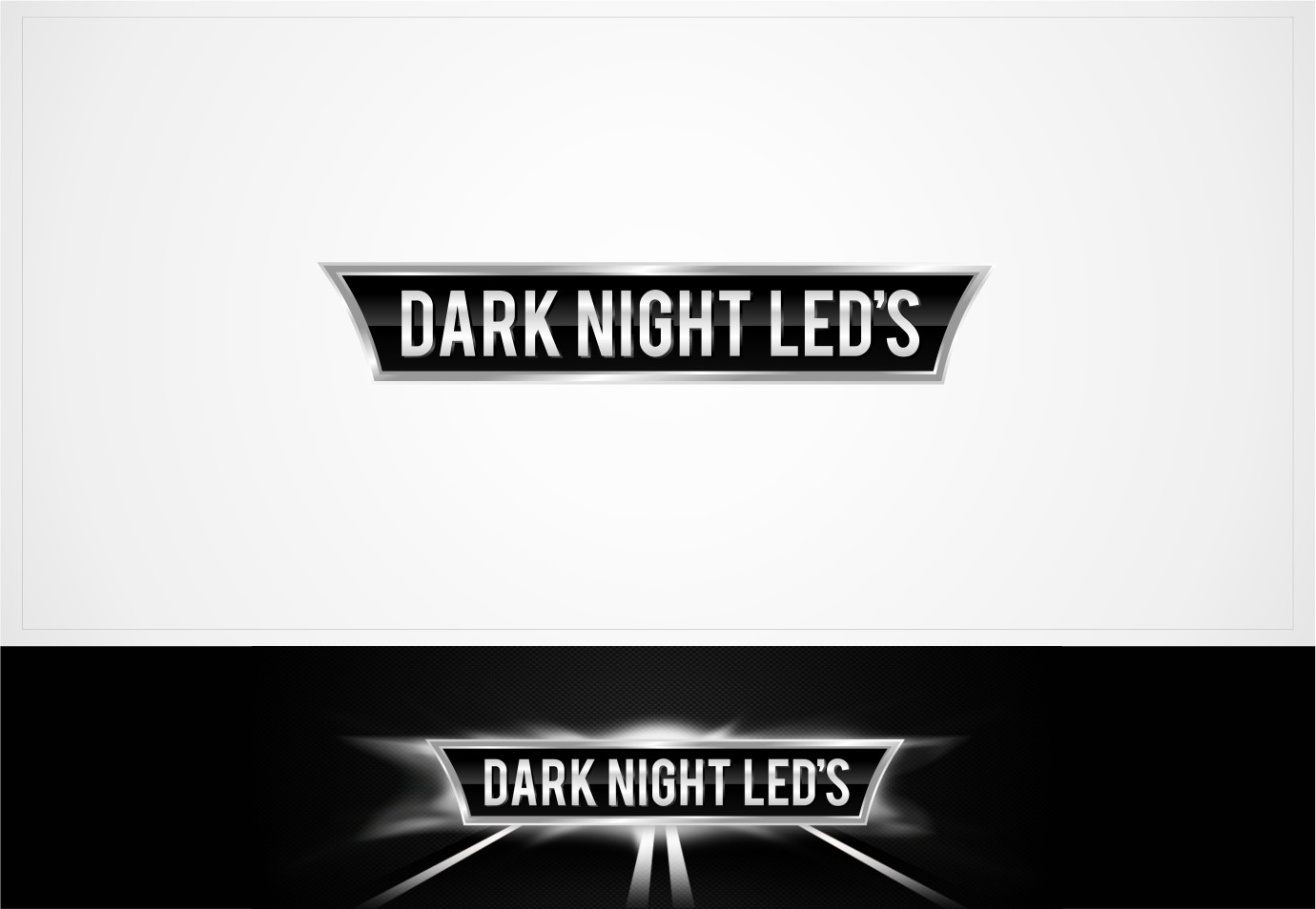 Help DARK NIGHT LED'S with a new logo