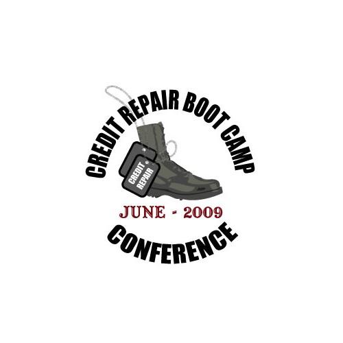 Logo Concept for Credit Repair Boot Camp
