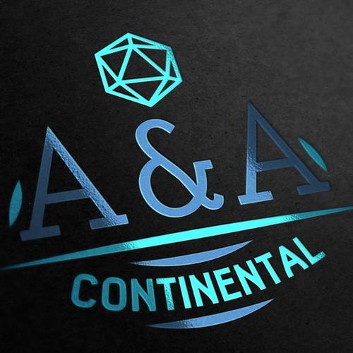 A&A Continental Logodesign