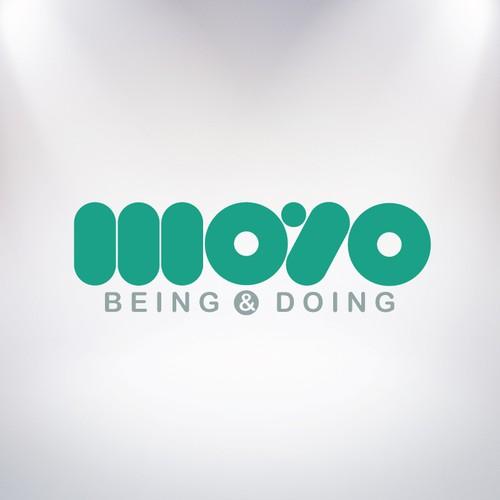 Logo for a Moyo, a social awareness, online global community