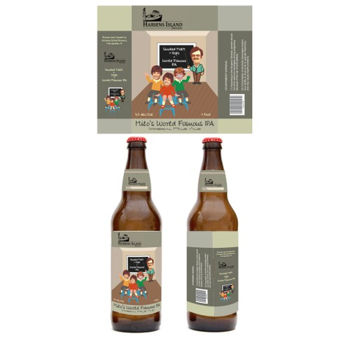 Create a new microbrewery beer label