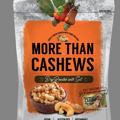 Cashew Pouch design