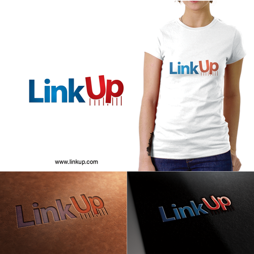 LinkUp Logo Designs