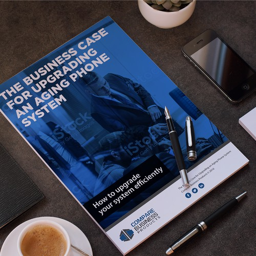 Design a standout ebook cover and template to attract tech buyers