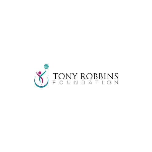 Create a logo for the Tony Robbins Foundation