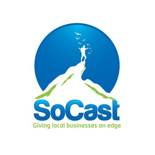 logo for SoCast