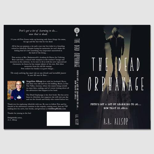 Book Cover concept for A.A. Allsop