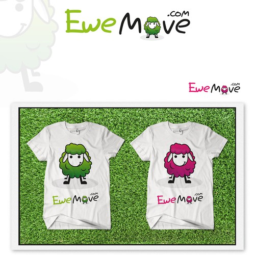 animated logo for www.ewemove.com
