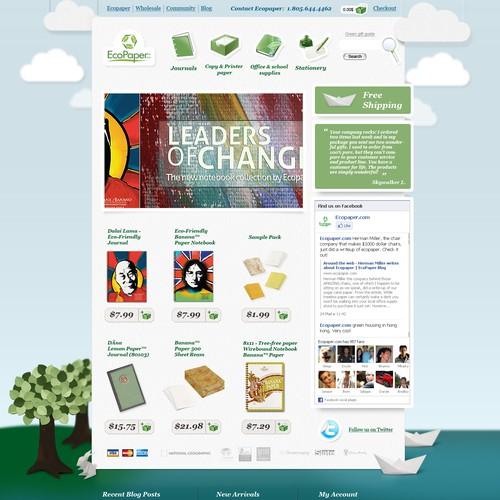 Ecopaper.com -- Work on a successful green site