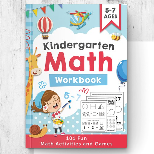 Math workbook cover