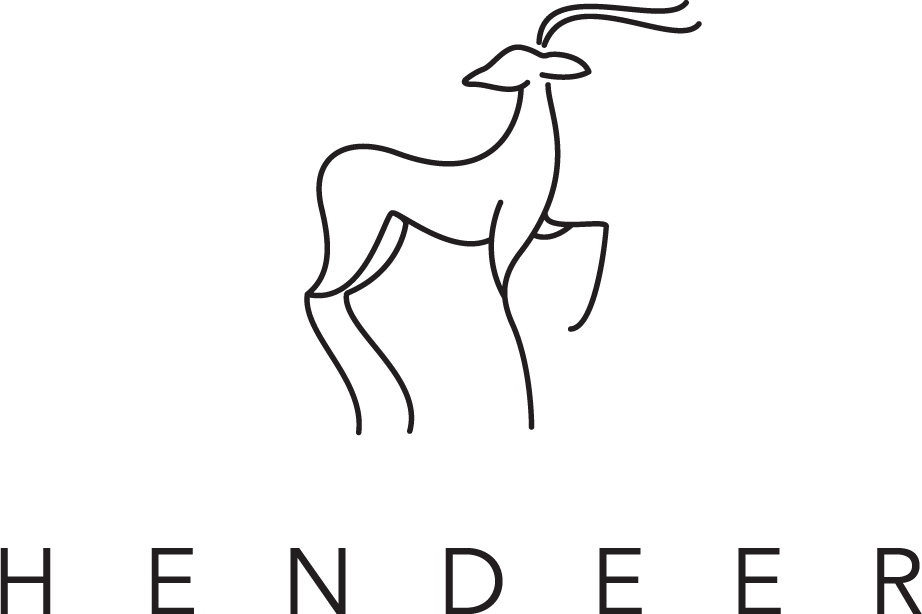 Design a stylish, minimalist Scandinavian inspired logo for HENDEER
