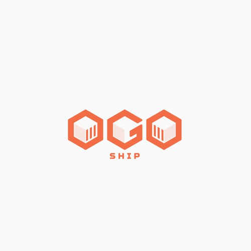 A logo for delivery company