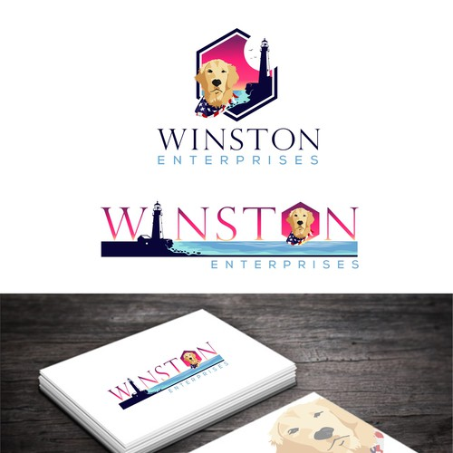 colorful logos for multi-business companies and consulting