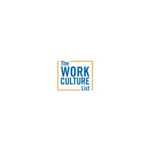 Design a modern Work Culture List logo