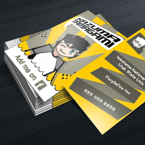 Private Business Card design to impress people