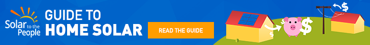 Ads promoting the solar guide