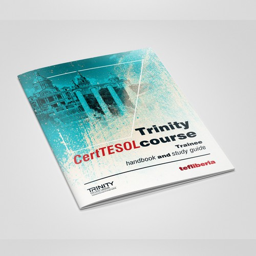 """Trinity CertTESOL course"" cover design"