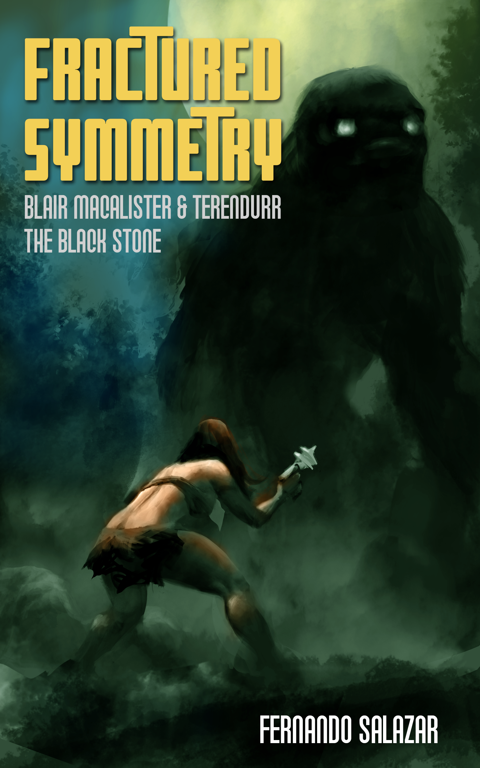70s-Style cool SF book cover
