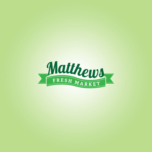 New logo and business card wanted for Matthews Fresh Market