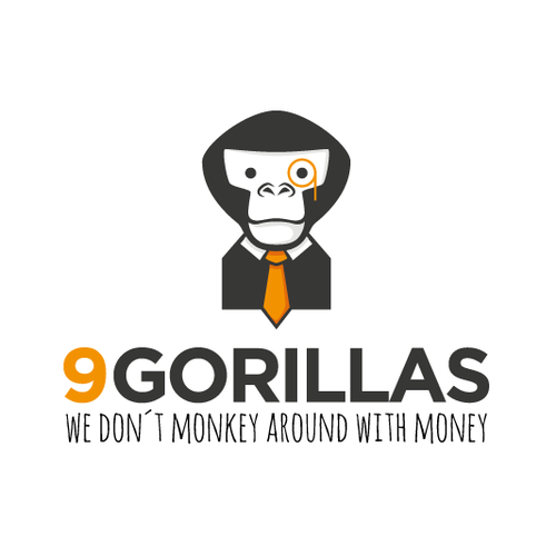 Gorilla in a Financial Logo