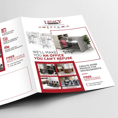 Brochure design for Legacy Office Solutions