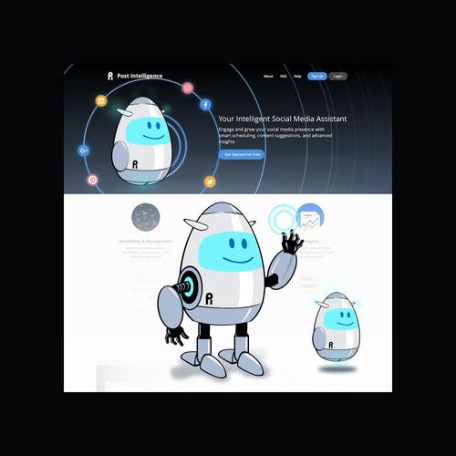 Social Media Analytic Robot