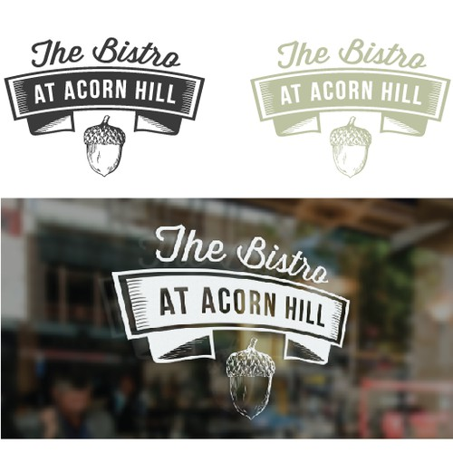 The bistro at acorn hill logo contest