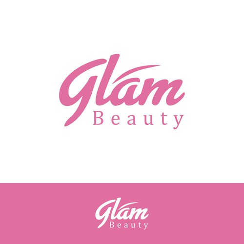 Bold Logo for Glam Beauty