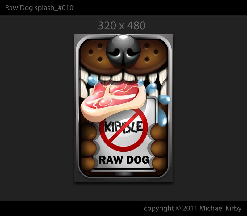 iPhone Splashscreen (640x960, 320x480) wanted for Raw Dog Feeding app