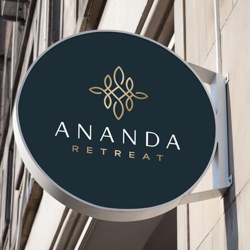 Logo design for Ananda Retreat