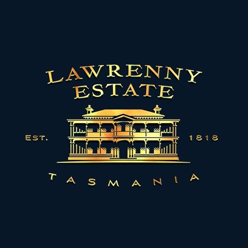Logo for Lawrenny Estate Premium produce company Tasmania