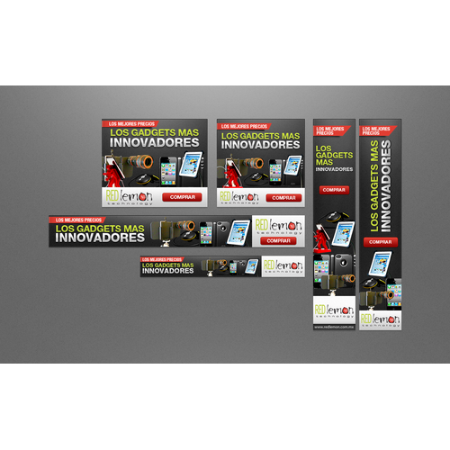 Create the next banner ad for Redlemon Technology