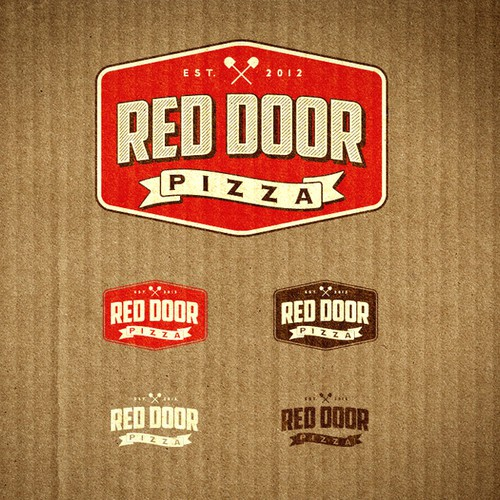 Help Red Door Pizza with a new logo