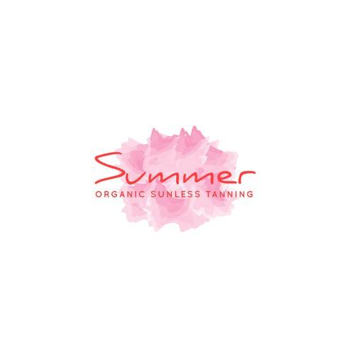 Brush Logo For Summer