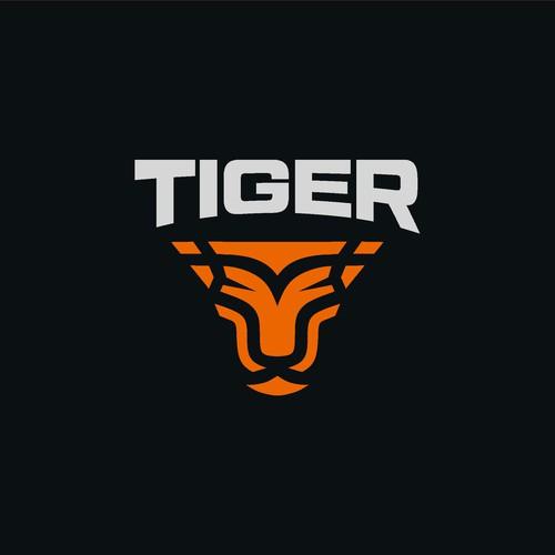 Sport Brand Logo Tiger