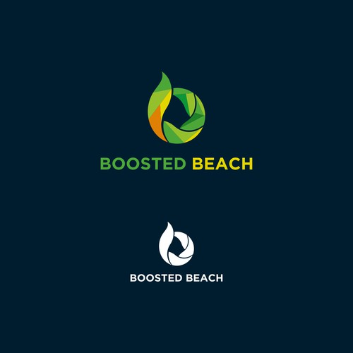 boosted beach