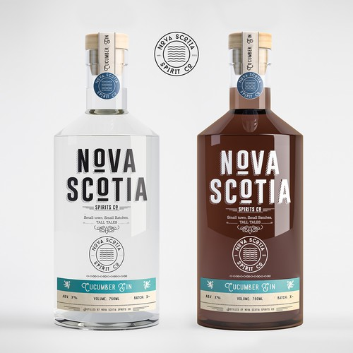 Nova Scotia craft spirit design