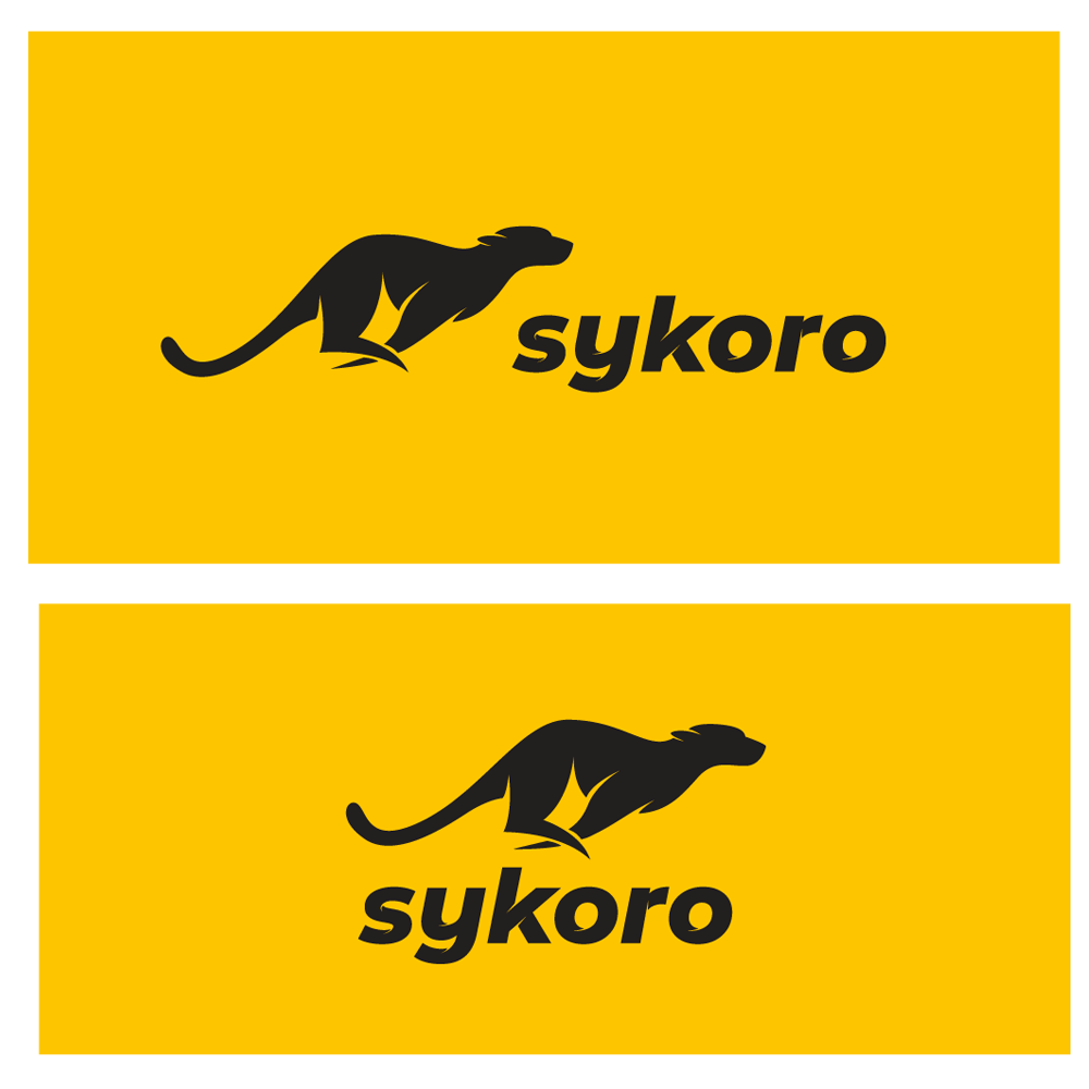 High tech logo design for a cutting edge services company