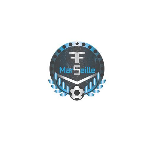 Logo concept for an futbol futbol team