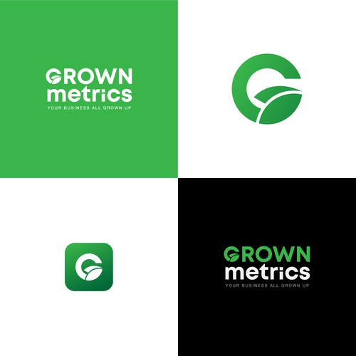 Proposed Logo Concept for Grown Metrics