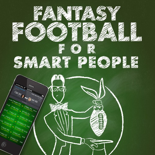 Create a unique fantasy football book cover (Paperback and e-book)