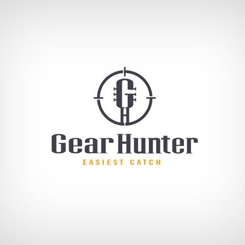 Logo design for Gear Hunter
