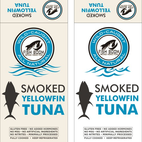 Help Re-Design the Packaging for FISH BOOM brand Smoked Fish