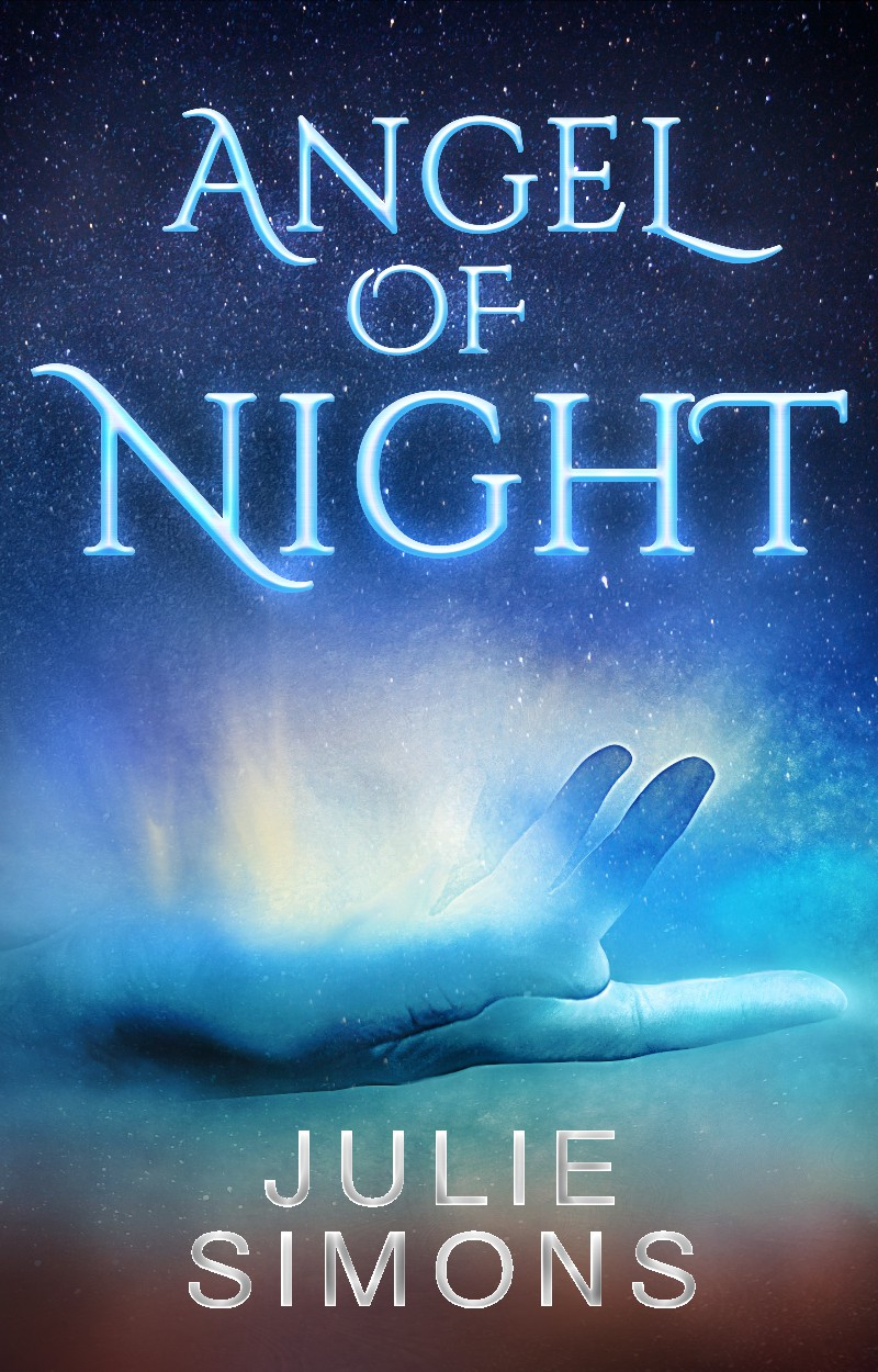 """Set my e-book cover design on fire.  My """"Angel of Night"""" might really be a demon."""
