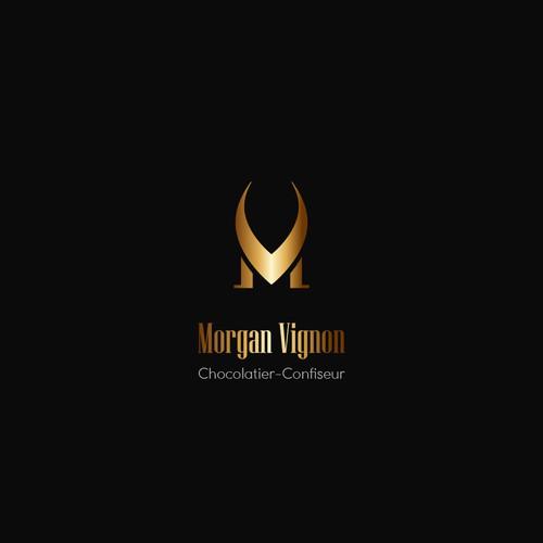 MV initials Logo