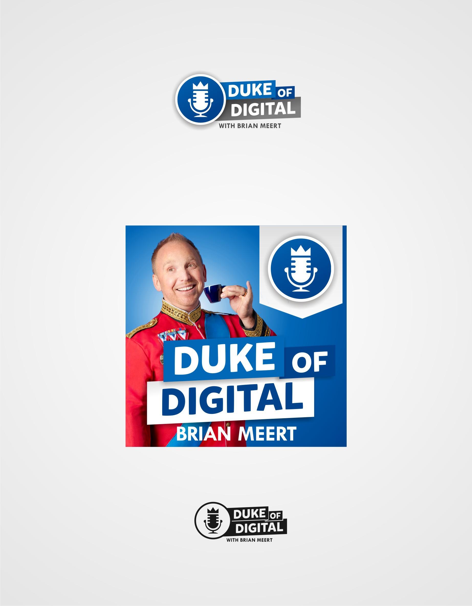 Duke of Digital - Logo & Podcast Artwork