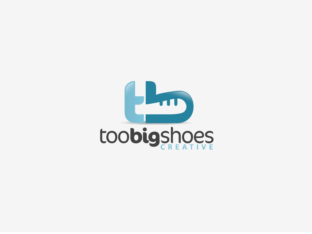 New logo wanted for Too Big Shoes Creative