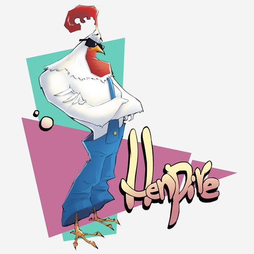 Create the mascot for Henpire!
